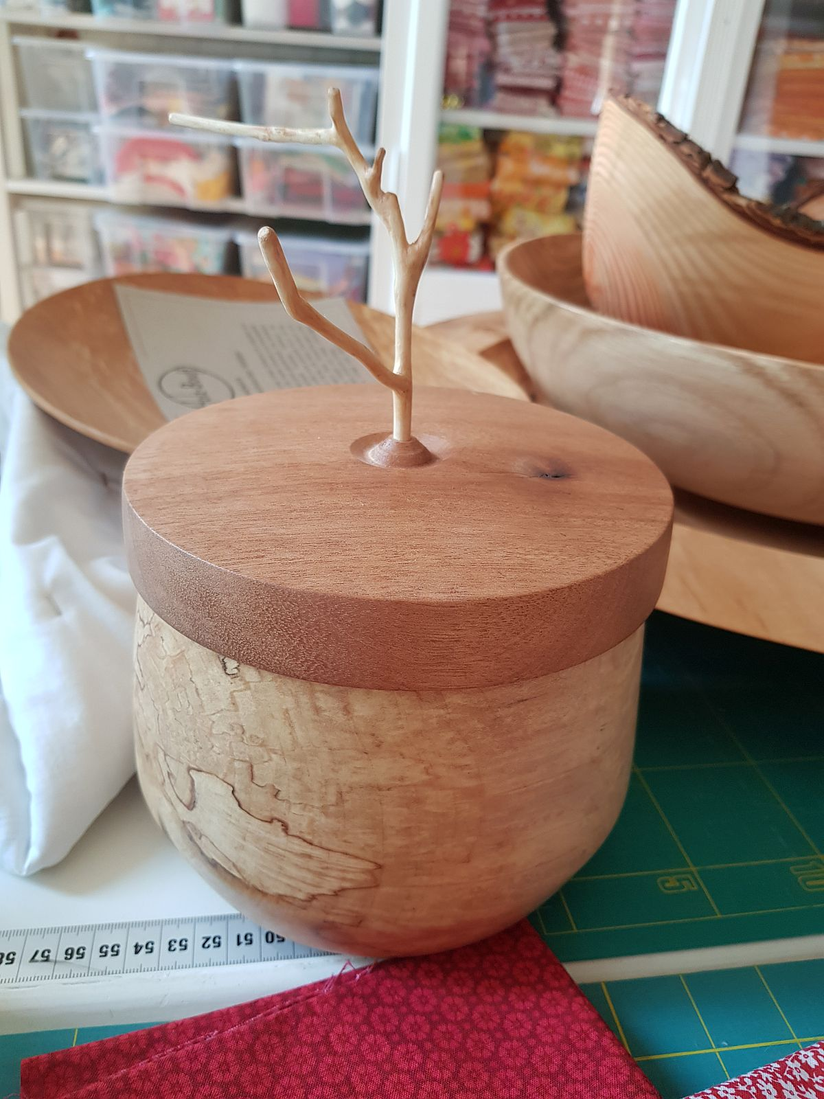 Dose Aus Holz