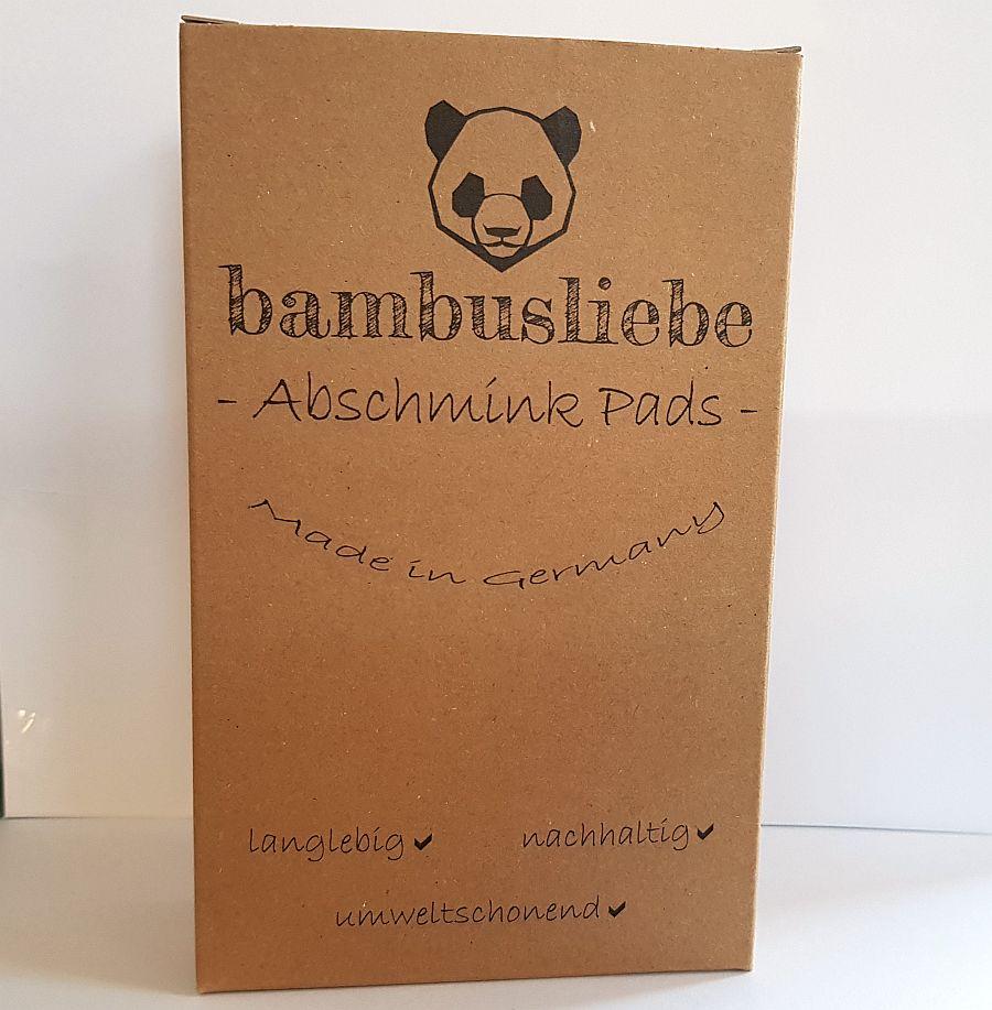 Bambusliebe – Waschbare Abschminkpads
