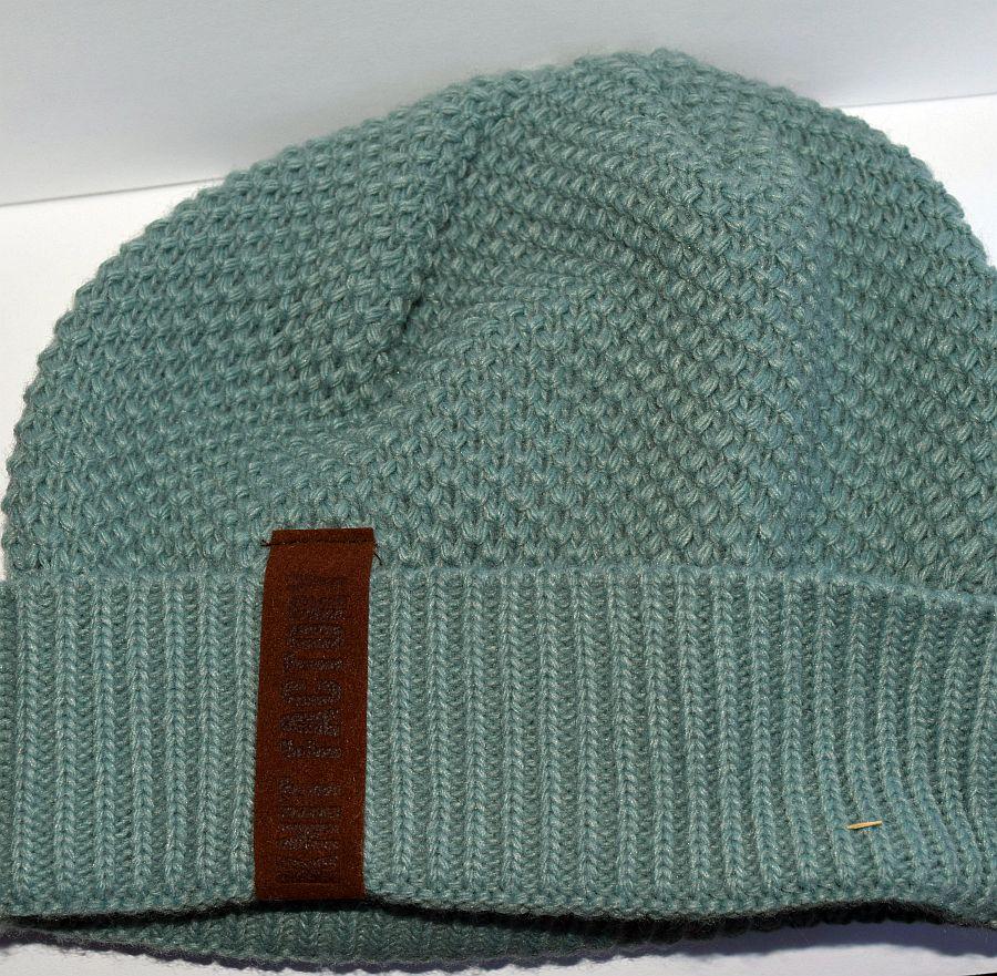 Knit Factory – Mütze Stone/Green