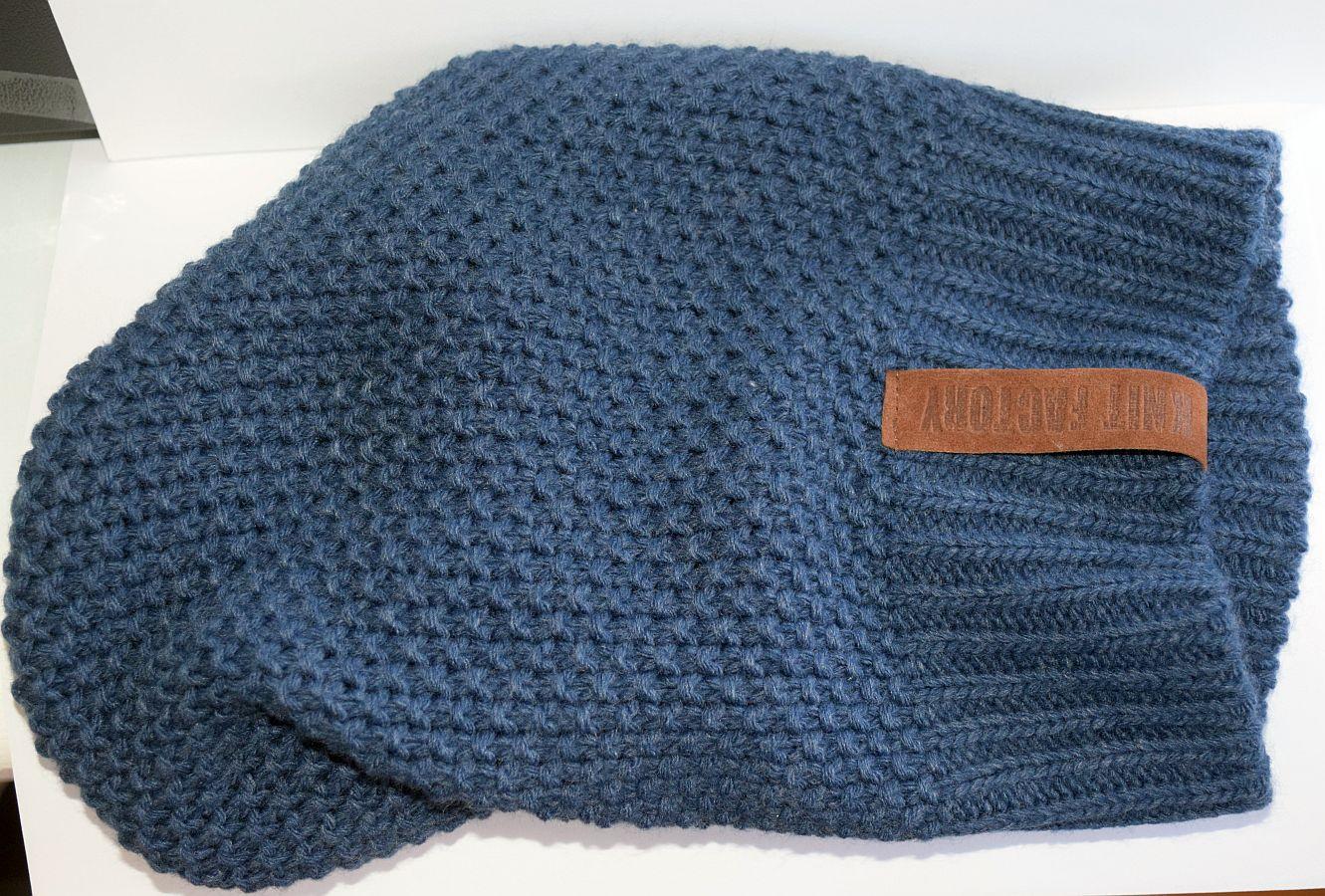 Knit Factory – Mütze Jeans