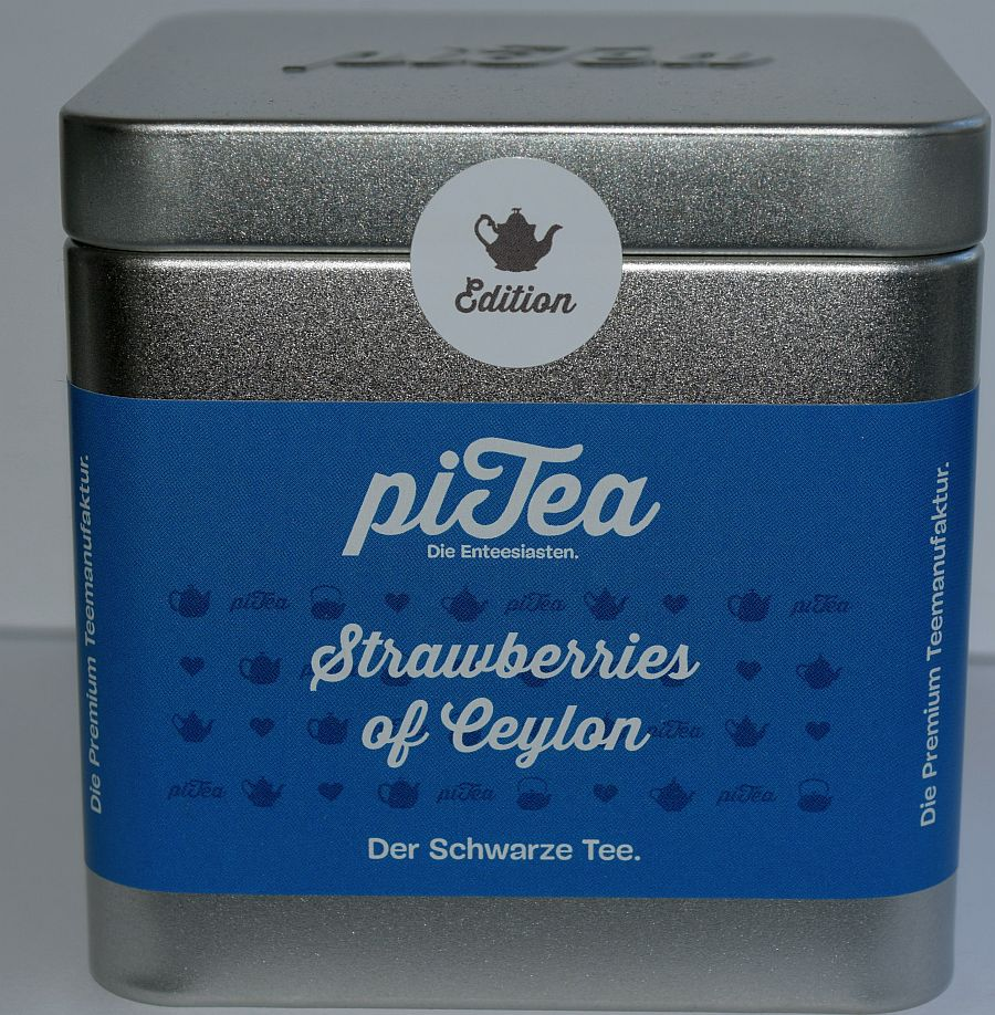 PiTea – Strawberries Of Ceylon – Mit Teestation