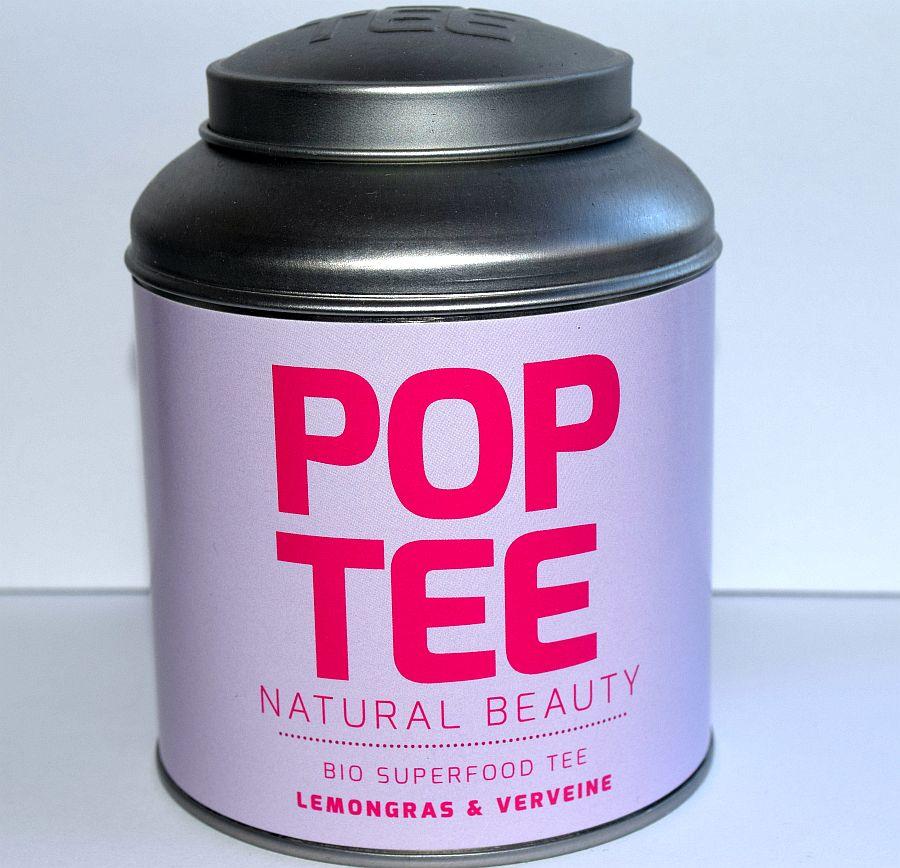 Pop Tee – Natural Beauty – Lemongras Und Verveine