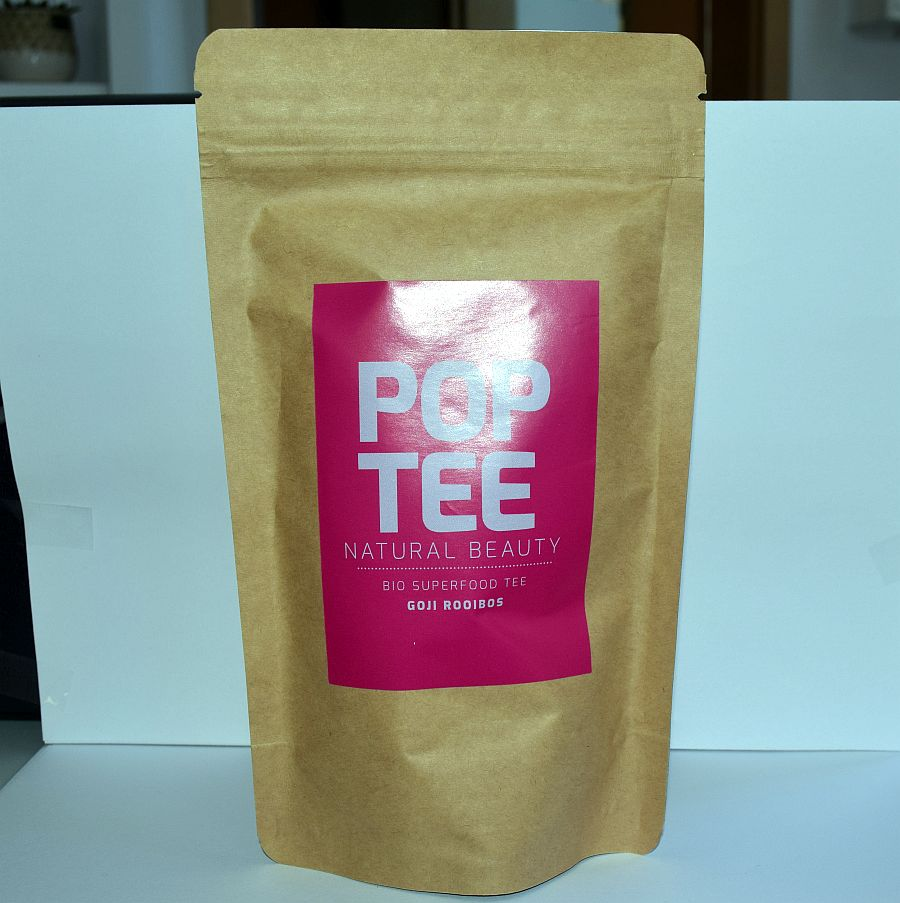 Pop Tee – Natural Beauty – Goji Rooibos