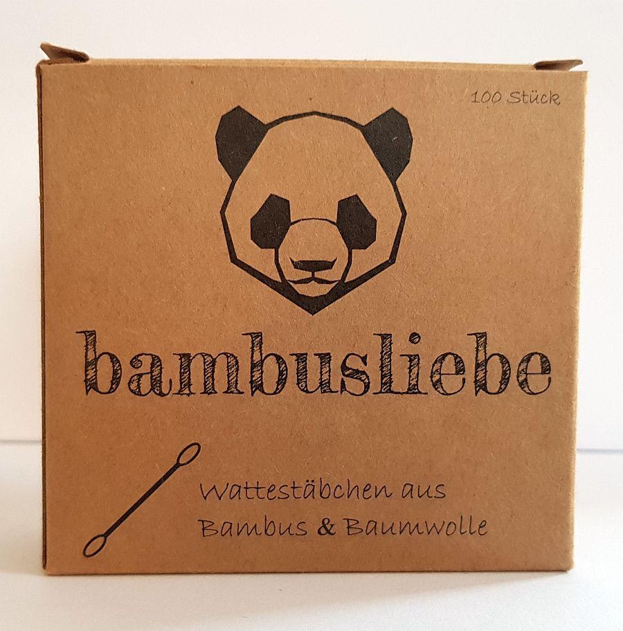 Bambusliebe – Wattestäbchen