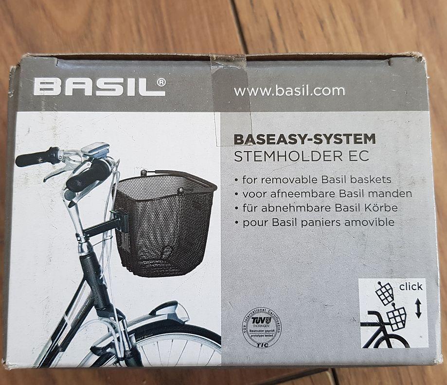 Basil Lenkertasche Graphite