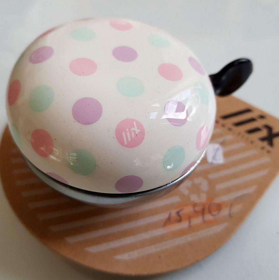 Lixx Ding Dong Bell – Polka Big Dots Pastel Mix