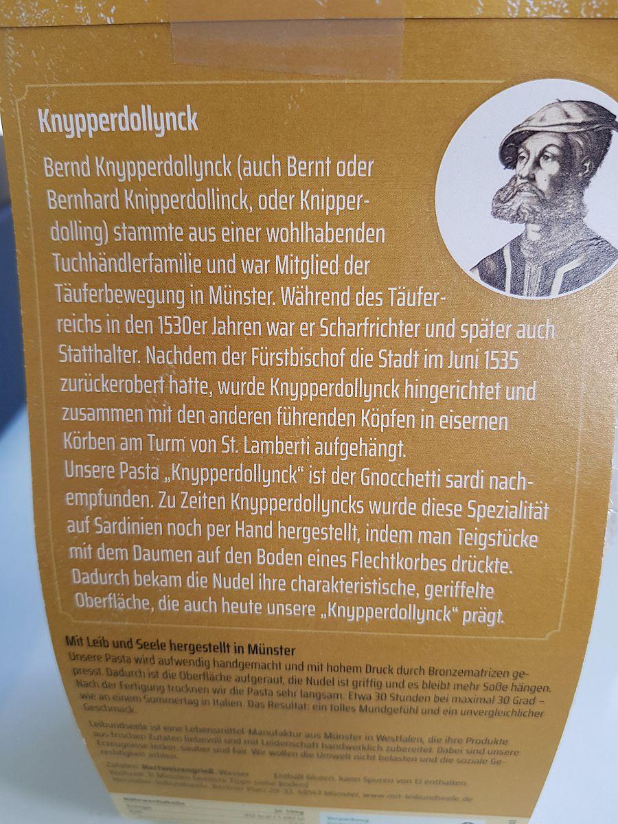 Pasta Knypperdollinck
