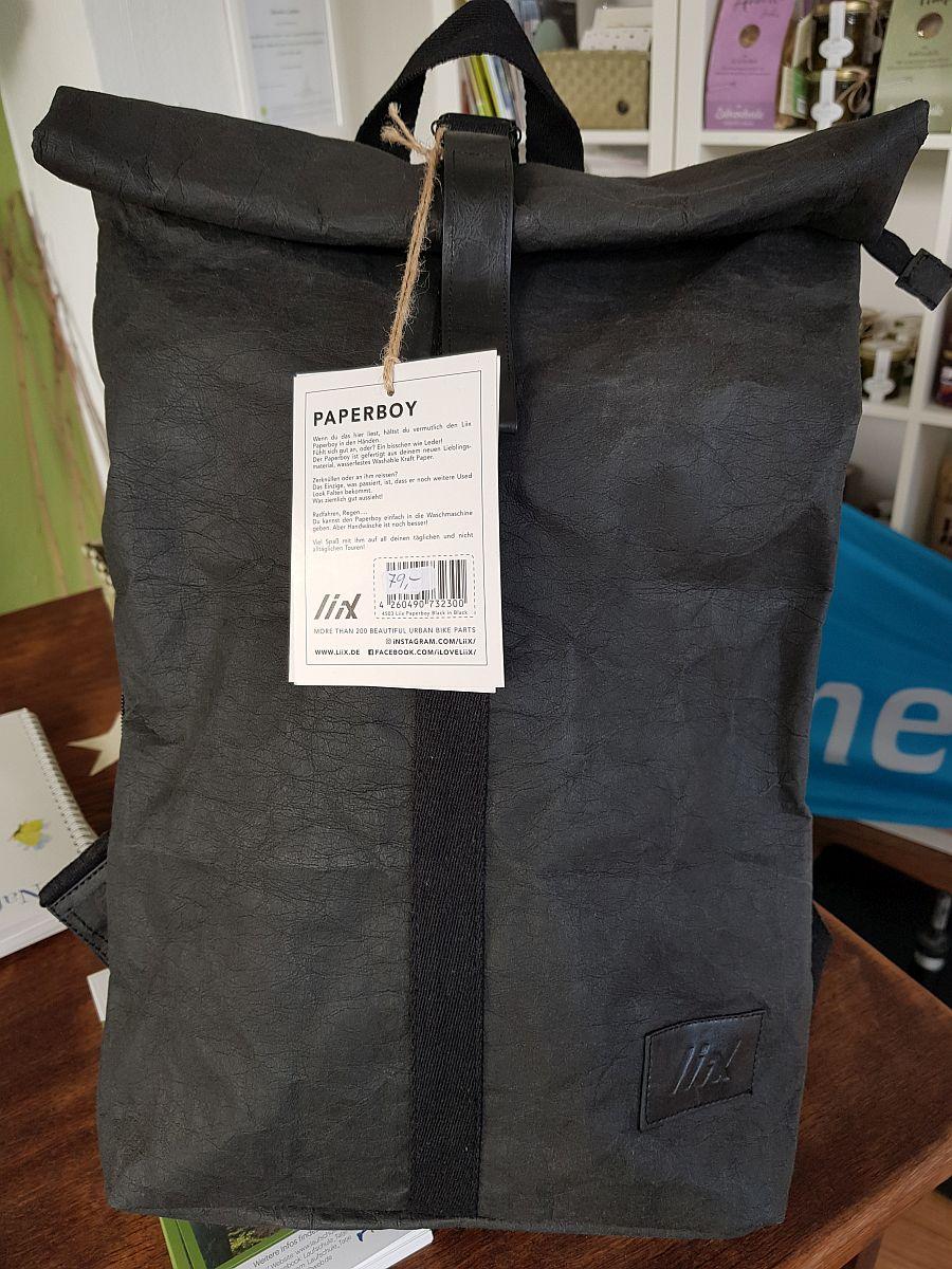 Paperboy – Stabiler Rucksack Aus Wasserfestem Papier