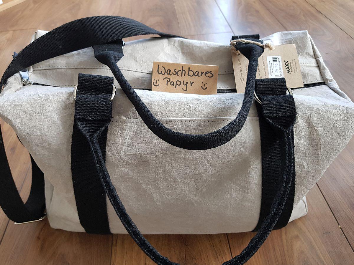 MAXX-Tasche Aus Waschbarem Papyr