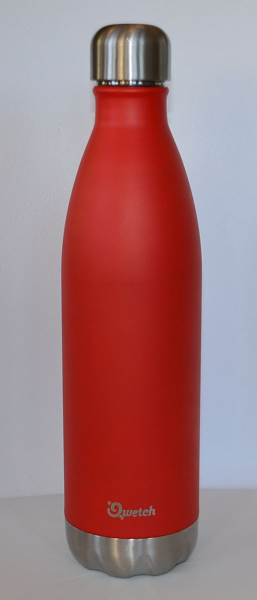 Qwetch Thermosflasche – Rot Shiny 750 Ml