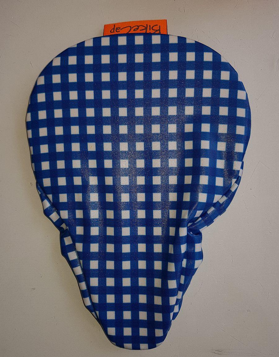 Sattelbezug Für Kinder – Blue Checkmate