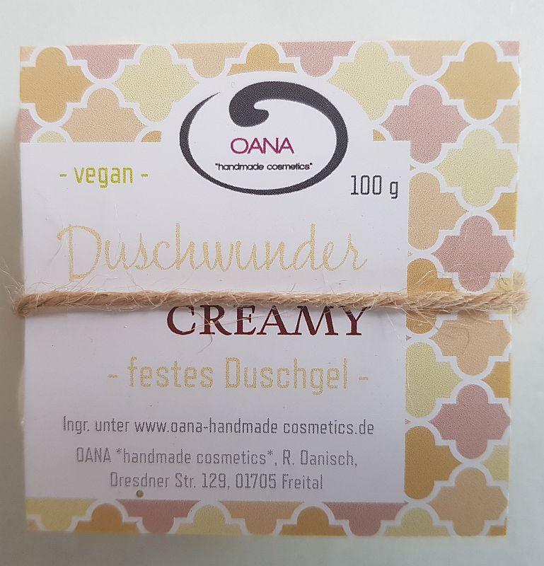 "OANA-Duschwunder – ""Creamy"" – Festes Duschgel"