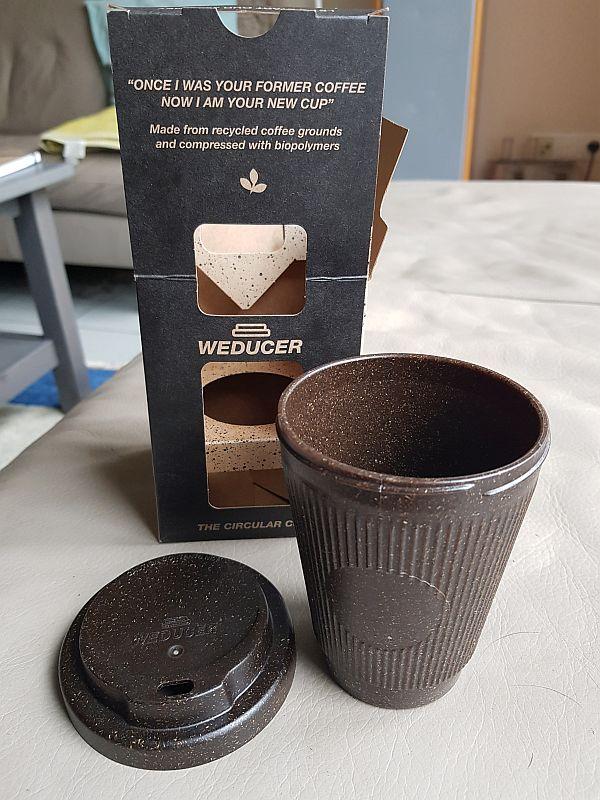 Coffee To Go – Nachhaltiger Becher Aus Kaffeeprütt